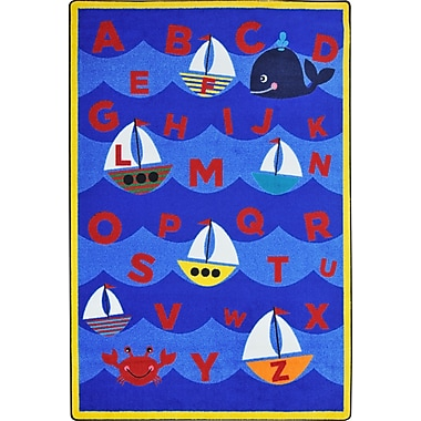 Joy Carpets Sailor's Alphabet, 3'10
