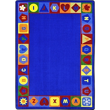 Joy Carpets Seasons & Shapes Alphabet, 7'8