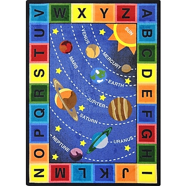 Joy Carpets Space Alphabet, 7'8