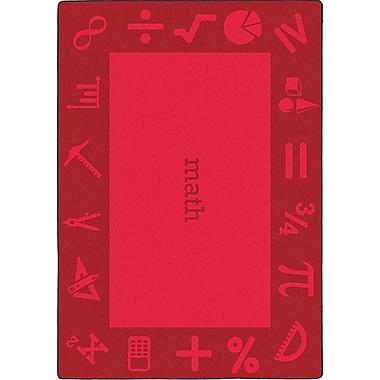 Joy Carpets – Tapis STEAM, 5 pi x 7 pi 8 po, math