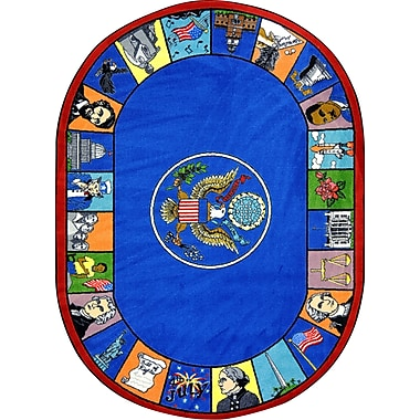 Joy Carpets Symbols of America, 7'8