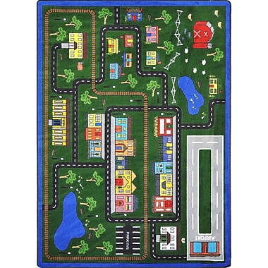 Joy Carpets – Tapis Tiny Town, 5 pi x 7 pi 8 po