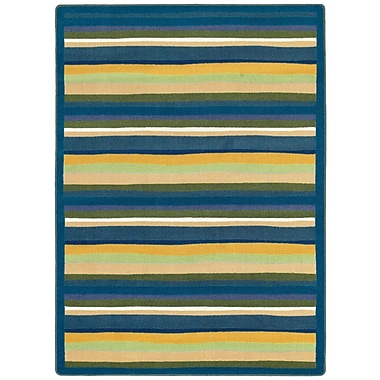 Joy Carpets – Tapis Yipes Stripes, 7 pi 8 po x 10 pi 9 po