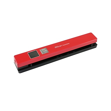 IRIS IRIScan Anywhere 5 Wireless Portable Scanner, Red (458843)