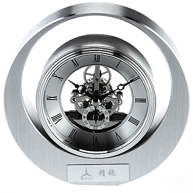 Elegance Rock and Roll Skeleton Mantle Clock