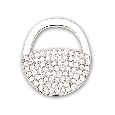 Elegance Purse Accessory Handbag Hook with Crystal