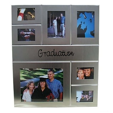Elegance Graduation Collage Photo Frame, 7 Window