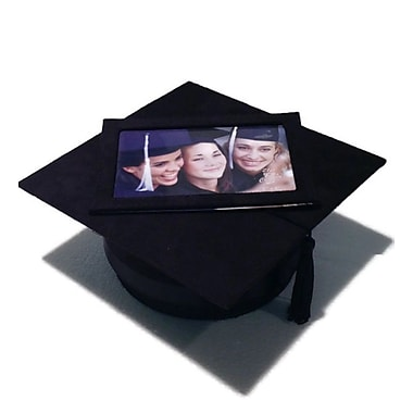 Elegance Graduation Hat Keepsake Box with 4