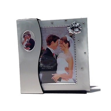 Elegance Wedding Photo Album and Frame in Holder