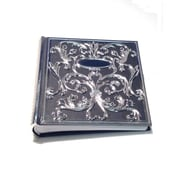"Elegance Wedding Photo Album 6x4"" Pewter Finish"