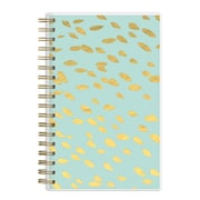 2017-2018 Ashley G for Blue Sky 3.625x6.125 Planner, Overlap Dot Mint (100804)