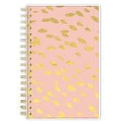 2017-2018 Ashley G for Blue Sky 3.625x6.125 Planner, Overlap Dot Peach (100832)