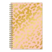 2017-2018 Ashley G for Blue Sky 5x8 Planner, Animal Print Peach  (101397)