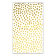 2017-2018 Ashley G for Blue Sky 3.625x6.125 Planner, Retro Dot (101403)
