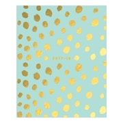 2017-2018 Ashley G for Blue Sky 8x10 Planner, Animal Spot Mint (101404)