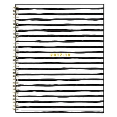 2017-2018 Ashley G for Blue Sky 8.5x11 Planner, Black Stripe (102794)
