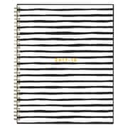 2017-2018 Ashley G for Blue Sky 8.5x11 Planner, Black Stripe (102794)