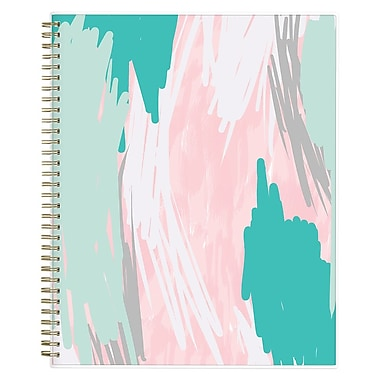 2017-2018 Ashley G for Blue Sky 8.5x11 Planner, Blue Abstract (102798)