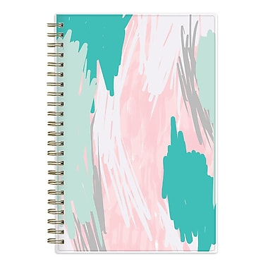 2017-2018 Ashley G for Blue Sky 5x8 Planner, Blue Abstract (102800)