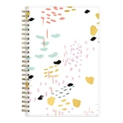 2017-2018 Ashley G for Blue Sky 5x8 Planner, White Abstract (102801)