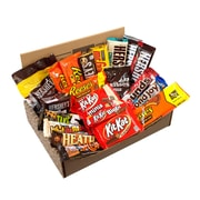HERSHEY'S Happy Chocolate Candy Snack Variety Box, Care Package , 20/Count (700-00010)