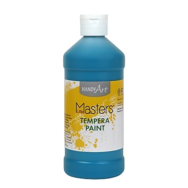 Little Masters® 16 oz. Tempera Paint, Turquoise