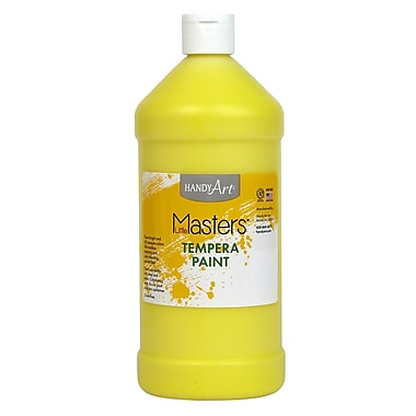 Little Masters Non-toxic 32 oz. Tempera Paint, Yellow (203-710)
