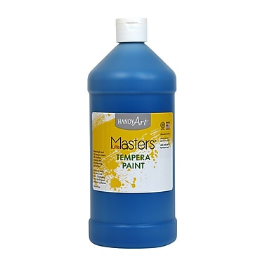 Little Masters Non-toxic 32 oz. Tempera Paint, Blue (203-730)