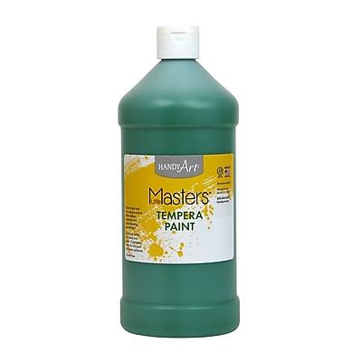 Little Masters Non-toxic 32 oz. Tempera Paint, Green (203-745)