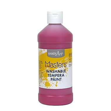 Little Masters Non-toxic 16 oz. Washable Paint, Magenta (RPC211725)