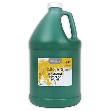 Little Masters 128 oz. Washable Paint, Green (214745)