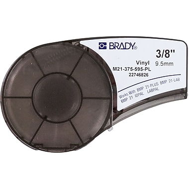 Brady Label Cartridge for BMP21 Series, ID PAL, LabPal Printers, Purple (M21-375-595-PL)