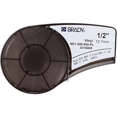 Brady Label Cartridge for BMP21 Series, ID PAL, LabPal Printers, Purple (M21-500-595-PL)