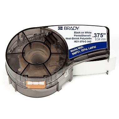 Brady Label Cartridge for BMP21 Series, ID PAL, LabPal Printers, White (M21-375-C-342)