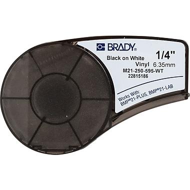 Brady Label Cartridge for BMP21-PLUS Printer, White (M21-250-595-WT)