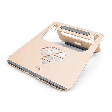 JCPal Folding Aluminum Laptop Stand, Gold (JCP6111)