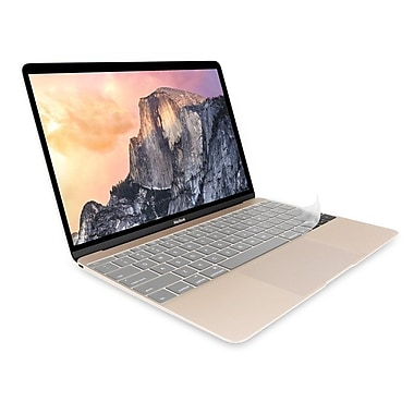"""JCPal FitSkin Clear Keyboard Protector for MacBook 12 / 2016 MacBook Pro 13"""" without Touch Bar"""