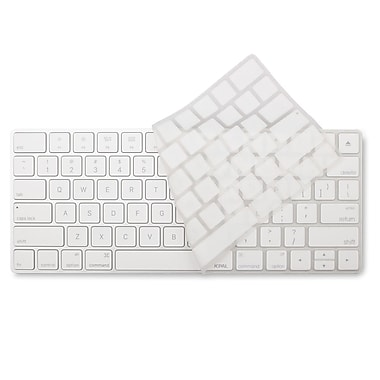 JCPal VerSkin Keyboard Protector for Apple Magic Keyboard, White