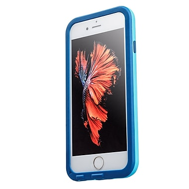 Richbox Extreme Waterproof & Shockproof Cell Phone Case for iPhone 6/6S, Blue (DAZZLEI6_BLU)