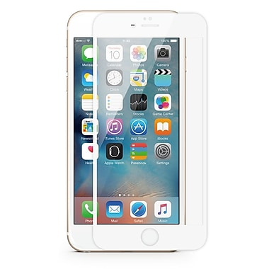JCPal 3D Glass Screen Protector for iPhone 6+/6S+, White (JCP3488)