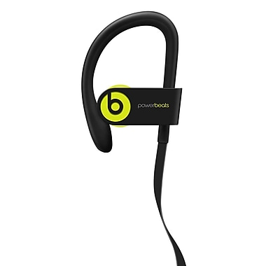 Beats Powerbeats3 Wireless Earphones, Shock Yellow (MNN02LL/A)