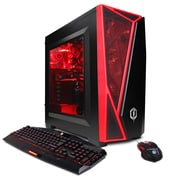 CYBERPOWERPC Gamer Xtreme GXi1040 Desktop (7th Gen Intel i7, 2TB HDD, 16GB DDR4, Win 10, AMD RX 580 Graphics)
