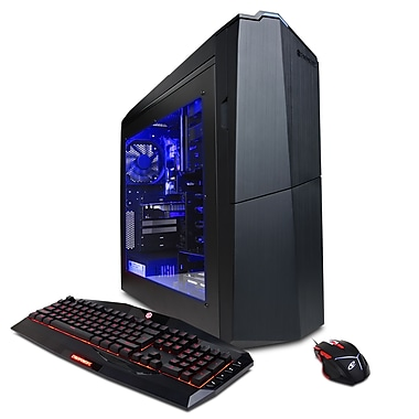 CyberPowerPC - PC GMA2800INC Gamer Master, 3,2 GHz AMD Ryzen 5 1400X, DD 1 To, 8 Go DDR4, AMD Radeon RX 470 4 Go, Win10