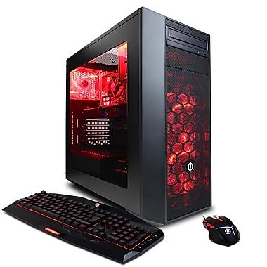 CyberPowerPC GMA3000INC Gamer Master Computer, 3.2 GHz AMD Ryzen 5 1400, 1 TB HDD, 8 GB DDR4, NVIDIA GeForce GTX 1060, Win10