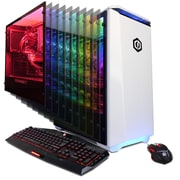 CYBERPOWERPC Gamer Supreme LiquidCool SLC9900 (AMD Ryzen 7 1800X, 240GB SSD+3TB HDD, 32GB DDR4, Win10, NVIDIA GeForce GTX1080Ti)