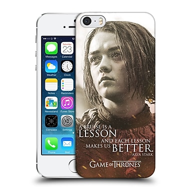 Official Hbo Game Of Thrones Character Portraits Arya Stark Hard Back Case For Apple Iphone 5 / 5S / Se