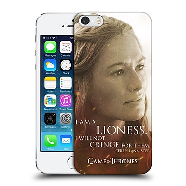 Official Hbo Game Of Thrones Character Portraits Cersei Lannister Hard Back Case For Apple Iphone 5 / 5S / Se