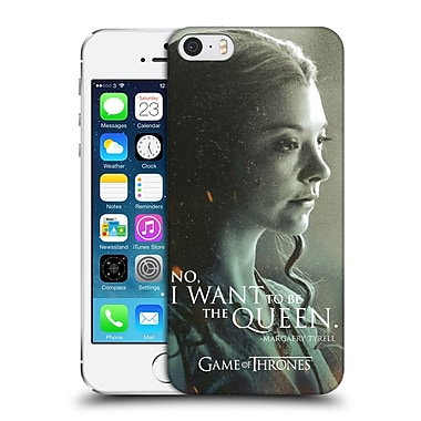 Official Hbo Game Of Thrones Character Portraits Margaery Tyrell Hard Back Case For Apple Iphone 5 / 5S / Se