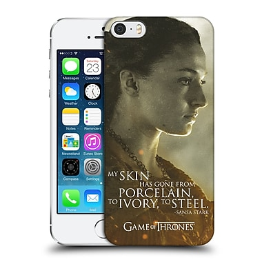 Official Hbo Game Of Thrones Character Portraits Sansa Stark Hard Back Case For Apple Iphone 5 / 5S / Se