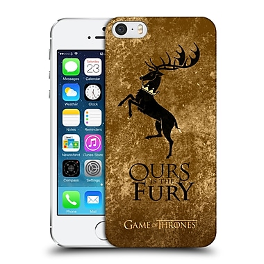 Official Hbo Game Of Thrones Dark Distressed Sigils Baratheon Hard Back Case For Apple Iphone 5 / 5S / Se